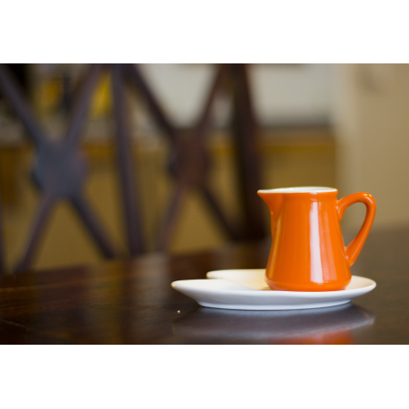 SET  MILK/CREAM JUG ORANGE